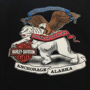 Men's L Harley t-shirt Alaska